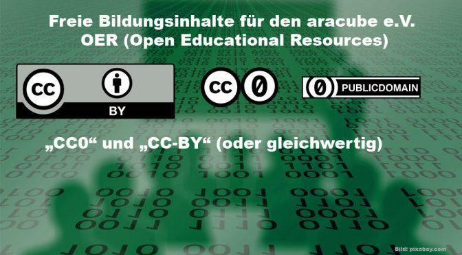 """""""CC-0"""" & """"CC-BY"""""""